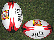 FOFR 50th Anniversary Rugby Ball
