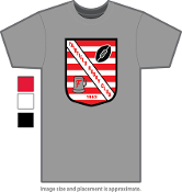Classic Fairfield Rugby T-Shirt and Athletic Shirt
